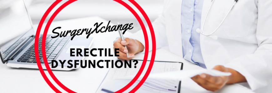 SurgeryXchange - Erectile dysfunction